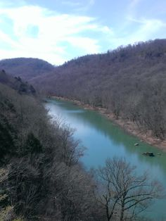 March 15, 2014 at the Yahoo Falls, Whitley City, Ky overlook