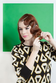 Holiday Hair: Four Retro 'Dos from Refinery29 -