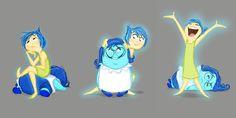 Inside Out: New Concept Art Revealed; Pixar Talks Story