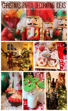 Great Christmas party decorating and food ideas! See more party ideas at CatchMyParty.com. #christmas #party #partydecorations #holidays #nutcracker