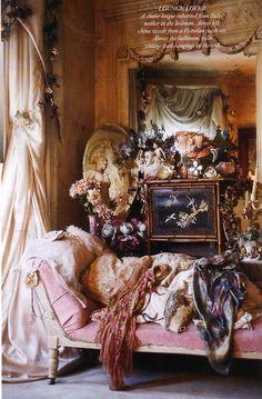 Virginia Bates, The Vintage Queen, Scan from Harpers Bazaar May 2011.