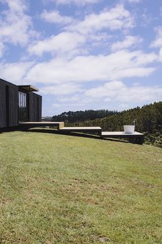 The Block NZ's Alex & Corban - their first home, made from six second-hand shipping containers. Featured in new book, Green Modern.