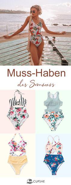 Shop trendy fashion swimwear online, you can get sexy bikinis, swimsuits & bathing suits for women on ZAFUL. One Piece Swimsuit Slimming, Floral One Piece Swimsuit, Floral Bikini, Striped Bikini, Swimsuits For Teens, One Shoulder Bikini, High Leg Bikini, Plus Size Bikini, Beach Wear