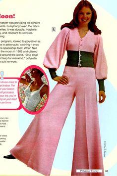70s fashion.