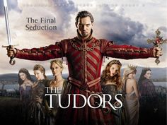 """""""The Tudors"""" is a historical fiction drama series named after the Tudor dynasty, It is loosely based on the reign of King Henry VIII of England and his many marriages. Jonathan Rhys Meyers is excellent as Henry VIII in this well-done series. Movies And Series, Best Series, Best Tv Shows, Movies And Tv Shows, Favorite Tv Shows, Hbo Series, Drama Series, Jonathan Rhys Meyers, The Tudors Season 1"""