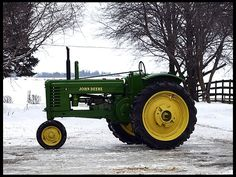 1944 John Deere B-Styled nicely restored    #MecumGF   --- All my boys have loved the John Deere!!!