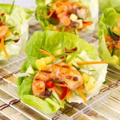 Our Grilled Shrimp Lettuce Cups Recipe will give you instructions on how-to prepare these mouth-watering morsels.