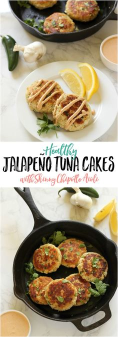 These healthy Jalapeño Tuna Cakes are low carb, low fat, and FULL of delicious flavor with just the right amount spicy!