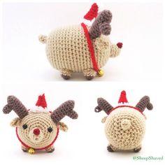 Reindeer Rudolph Tsum Amigurumi