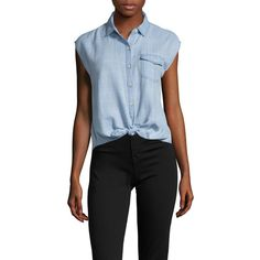 Joe's Jeans Women's Sofia Cotton Plaid Blouse - Light/Pastel Blue,... ($69) ❤ liked on Polyvore featuring tops, blouses, multi, pastel tops, plaid blouse, blue plaid blouse, pastel blouse and blue blouse