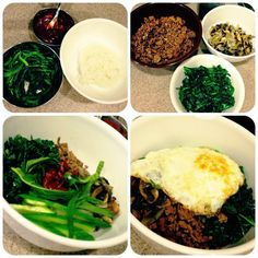 Easy Dinners: Korean Mixed Rice Bowls aka bibimbap, johaa