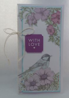 Card created using Birds and Blooms Mega Variety kit, designed by Julie Hickey… Craftwork Cards, Craft Work, Card Ideas, Projects To Try, Card Making, Bloom, Collections, Birds, Kit