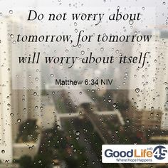 Matthew 6:34 #christianquotes #scripture #inspirational #quotes