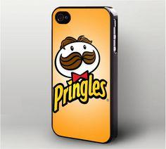 Pringles Logo iPhone 4 Case, iPhone 4s Case
