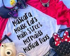 This Disney Magical Days Raglan Tee Says Everything