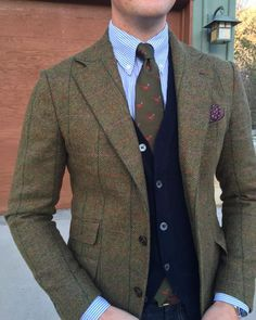 """Pheasants and tweed belong together"""