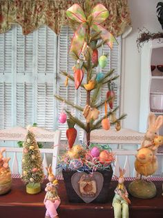 Country Creations By Denise: New Bunny Tree!!!