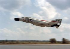 F-4B from VF-74 taking off, c.1961
