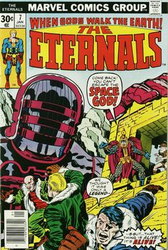 """December 2013 - """"The Eternals"""" by Jack Kirby"""