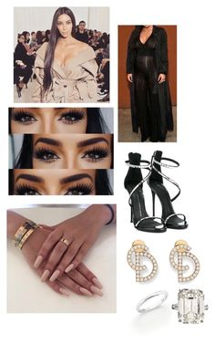 """""""Pity Party"""" by paukar ❤ liked on Polyvore featuring Giuseppe Zanotti and De Beers"""