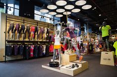 Reebok - New York - Sports - Layout - Landscape - Lifestyle - Customer Journey - Visual Merchandising - www.clearretailgroup.eu