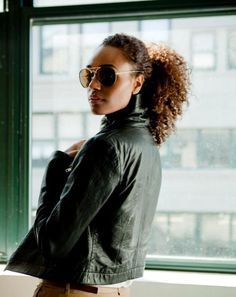Divalocity: The Vision: Gelila Bekele  #OfficiallyNatural #NaturalHair #AfroPuff