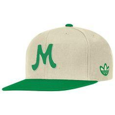NCAA Men's Snapback Hat (Green/White, OSFA) adidas. $12.59. Save 37%!