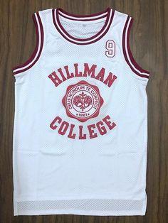 f30b0c99b477 A Different World Dwayne Wayne 9 Hillman College Theater Basketball Jersey  Red White Stitched  9