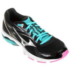 Tênis Mizuno Wave Advance 2 - Preto+Azul