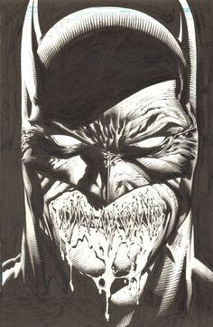 Batman: The Dark Knight 10 cover Comic Art