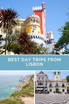 The best day trip from Lisbon includes stops in Sintra, Cabo da Roca and Cascais. Click on the photo to see how you can visit them all in one day