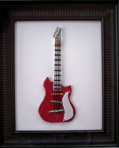 Fused Glass Guitar | Flickr - Photo Sharing!
