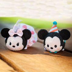 Mickey and Minnie Birthday 2016 Tsum Tsums