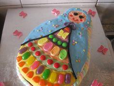 babushka cake for girl's first birthday from OP SHOP MAMA blog