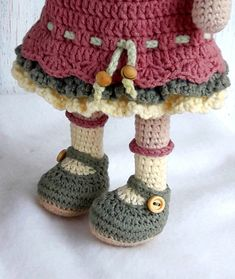 Amigurumi doll pattern for Crochet toy making Dorothy the Etsy Crochet Dolls Free Patterns, Crochet Doll Pattern, Amigurumi Patterns, Doll Patterns, Love Crochet, Diy Crochet, Single Crochet, Crochet Amigurumi, Amigurumi Doll