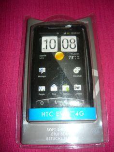 2 Rocketfish Soft Shell Cover for HTC EVO 4G Black Free Shipping | eBay
