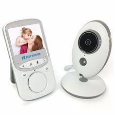Two-Way Talking Night Vision Camera Baby Monitor  Price: $ 81.50 & FREE Shipping   #babymonitors #babylove #cutebaby #babycute #cute #cuteclothes #facebook #art #artlove #artistic #paint #paintbrush