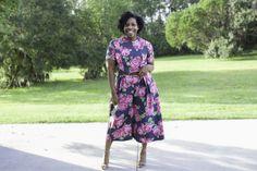 Floral Jumpsuit: Vogue 9075 http://www.brittanyjjones.com/home/vogue-9075