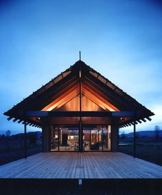 Logan Pavilion by Carney Logan Burke Architects — Jackson, Wyoming