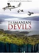prehistoric rare tasmanian devils stalks rock climbers.