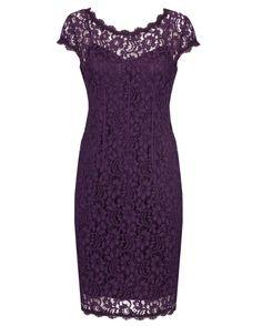 Anthea Crawford l Imperial Stretch Lace Sheath Dress