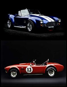 Two '65 Shelby Mustang Cobra Roadsters