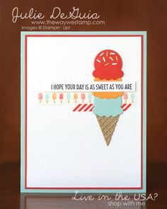 Cool Treats - Stampin' Up!