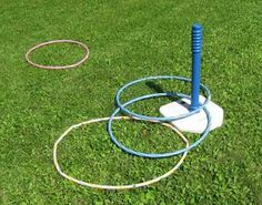 """Maybe more of a 'fun' idea rather than a functional one.....   But maximize this idea with maybe a larger, central """"base"""" and store your hoops stacked? (Maybe some sort of garbage can?) Imagine a slinky! But with a pile of hoops :)"""