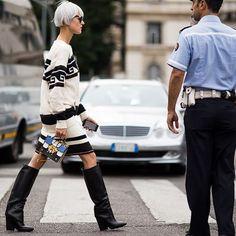 #StreetStyle #Style #MilanFashionWeek #MFW #Fashion #Week #FashionWeek 4