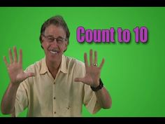 Jack Hartmann: Count to 10 (Soldier, Opera, Monster, Cowboy, Baby) Action Songs For Kindergarten, Counting Songs For Kids, Counting By 10, Preschool Songs, Kids Songs, Preschool Age, Jack Hartmann, Number Song, Math Songs