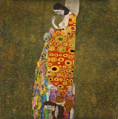 Gustav Klimt - Hope II, 1908