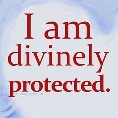 Daily Positive Affirmations- I am divinely protected Affirmations Positives, Daily Positive Affirmations, Positive Thoughts, Positive Vibes, Positive Quotes, Motivational Quotes, Inspirational Quotes, I Am Affirmations, Mantra