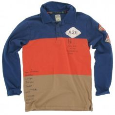 Scotch and Soda - Polo Gaboon Vipers blauw
