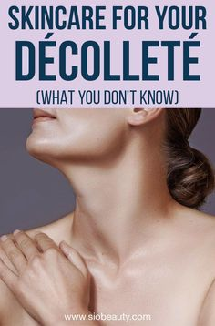 The neck and chest are also naturally thin-skinned, they produce less collagen. We lose volume in our skin as we get older, and the sagging is just about inevitable. But whether you're already showing some signs of mature skin or you're looking to prevent Sun Spots On Skin, Brown Spots On Skin, Anti Aging Skin Care, Natural Skin Care, Home Remedies For Skin, Natural Remedies, Wrinkle Remedies, Dull Skin, Inevitable